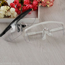 1Pc Anti Glasses for UV Gel Nail Art White/Black Big Frame Nail Manicure Tool