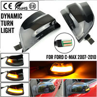 6M5Y 13B382 AA - Mirror Side Turn Signal Light Indicator For Ford Focus C MAX