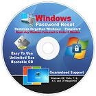 #1 BEST Windows Password Reset Remove DUAL CDs Windows XP, VISTA, 7, 8.1, 10