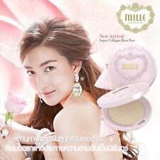 Mille Super Collagen Rose Powder Pact No.01 for whites Spf 25 Pa+ 11 g.