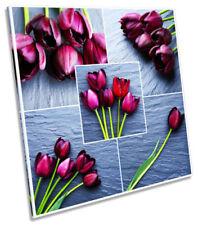 Purple Floral Original Art Prints