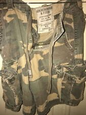 Abercrombie & Fitch Mens Cargo Camo Shorts SIZE 28