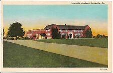 Louisville Academy in Louisville GA Postcard