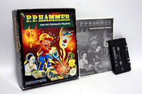 P. P. HAMMER AND HIS PNEUMATIC WEAPON USATO COMMODORE 64 DEMONWARE FR1 59621