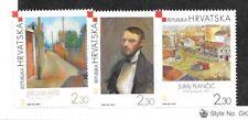 CROATIA SC 568-70 NH issue of 2004 - MODERN ART