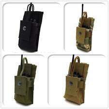 Outdoor Walkie-talkie Package Tactical MOLLE Radio Holder GPS Bag Holster Pouch