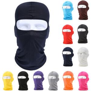 Bicycle Cycling Balaclava Face Mask Breathable Sun UV Protection Headwear Hats