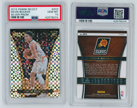 2015-16 Panini Select Silver Prizm #203 Devin Booker Suns RC Rookie PSA 10