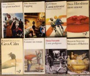Lot 34 livres de poche collection folio