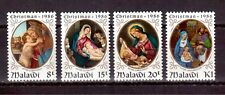 MALAWI 1986 SET MINT NH # 490/93, CHRISTMAS PAINTINGS !!