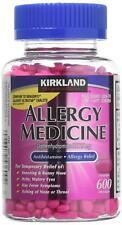 Kirkland Signature ALLERGY MEDICINE Diphenhydramine HCI 25mg 600 Minitabs