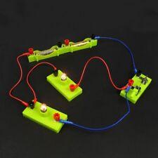 Electric Circuit Kit Kids Student School Science Toy Montessori Educational New