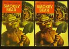 The True Story Of Smokey Bear 2 Comic Books 1964 Vintage - Both