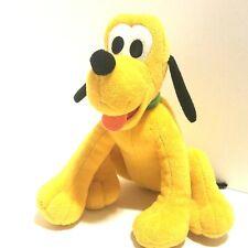"Walt Disney Plush Pluto Dog Stuffed Animal Toy Yellow 6.5"" Mickey Mouse Friends"
