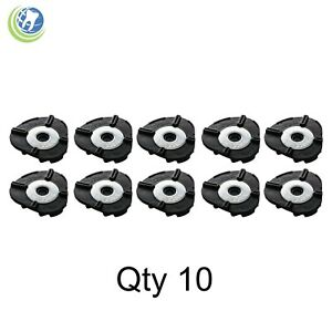 10 WHIPMIX MAGNETIC MOUNTING DISPOSABLE ARTICULATING PLATES OBLONG ARTICULATOR