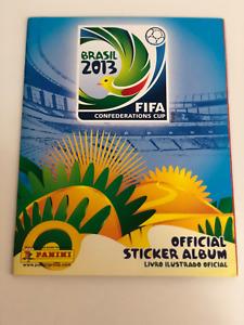 Panini FIFA Confederation Cup Brazil 2013 Complete set Album Brazil ULTRA RARE
