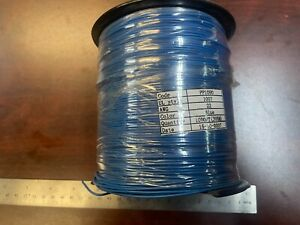 **1000-Foot Spool Blue Hook-Up Wire 22 AWG PP1090