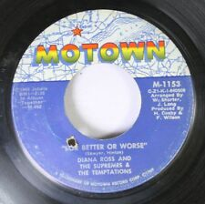 Soul 45 Diana Ross And The Supremes & The Temptations - For Better Or Worse / Th