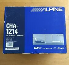 Cha-1214 with Cra-1667Rf. Alpine 12 Cd changer with Auto Limitter