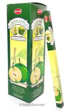 """Green Apple"" HEM Brand Incense 200 Sticks (25 Square Packets)"