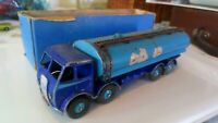 Vintage Dinky Diecast 504 Foden 14 Ton tanker 1st issue blue 1948 playworn & box