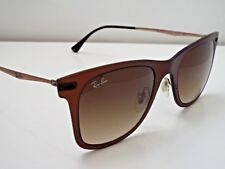 Authentic Ray-Ban RB 4210 6122/13 Brown Brown Gradient LightRay Sunglasses $270