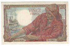1950 FRANCE 20 FRANC NOTE CRISP UNCIRCULATED