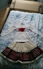 Girls Monnalisa skirt and top in age 12 in excellent condition