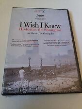 """DVD """"I WISH I KNEW HISTORIAS DE SHANGHAI"""" PRECINTADO SEALED JIA ZHANG-KE"""