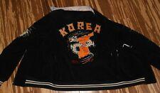 Vintage Dragon Embroidered Korea Reversible Jacket 1966-67 Corduroy Satin