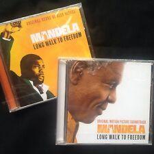 MANDELA LONG WALK TO FREEDOM Soundtrack Score +Songs 2CDs Alex Heffes Idris Elba