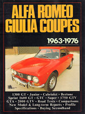 ALFA ROMEO GIULIA COUPES 1963-1976 - R.M. Clarke (compiled by)