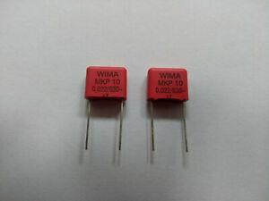 2x Kondensator 22nF 630V WIMA MKP10 Yamaha YSP Verstärker Netzteil Reparatur