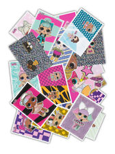 Panini - L.O.L. Surprise Dolls 50 Sammelsticker ohne Doppelte inklusive Holo Neu