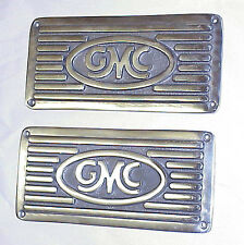 1967 1968 1969 1970 1971 1972 Polished Running Board Step Plates GMC Truck