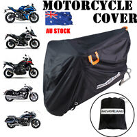 L/XL/XXL 210D Oxford Waterproof Motorcycle Motor Bike Scooter Rain Cover Outdoor