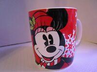 Disney Galerie Minnie Mouse Christmas XL Over-sized Coffee Mug 24 oz. Holiday