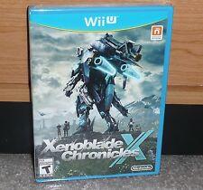 Nintendo Wii U - XENOBLADE CHRONICLES X (Brand NEW Sealed) NTSC world ship WiiU
