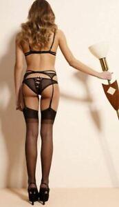 Plus Size Sheer Garter Stockings Justine 20 Denier Nylons