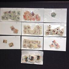 US STAMPS 10 Pks. Scott #'s 1581-82,1590, 1593, 1595-96, 1608, 1618, 1622 & 1758