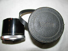 VIVITAR CAMERA AUTOMATIC TELE CONVERTER LENS 3X-4 FL-FD WITH CASE