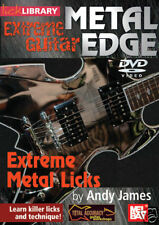 EXTREME HEAVY METAL LICKS GUITAR TECHNIQUES DVD NEW
