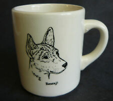 Vintage I Love My Basenji Dog Coffee Mug England tea
