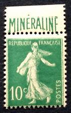 France N°188A 10c vert mineraline Neuf ** timbre et gomme très frais côté 725€