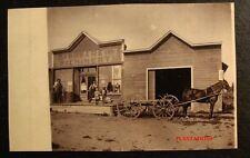 HARDWARE STORE FRONT, EASBY, NORTH DAKOTA, Photograph