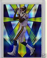 Randy Moss 1998 CE RC Masters Blank Back Proof RC 1/1 ?
