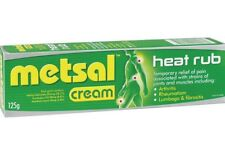2× Metsal Heat Rub Dual Action Cream 125G – OzHealthExperts