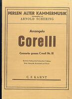 A. Corelli :Concerto grosso c-moll Nr. III - Partitur
