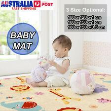 180x120cm Baby Crawling Play Mat Floor Carpet Game Foam Puzzle Pad Cushion Rug