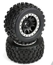 Pro-Line Badlands MX43 Pro-Loc All Terrain Tire Mounted to Impulse X-MAXX Wheel